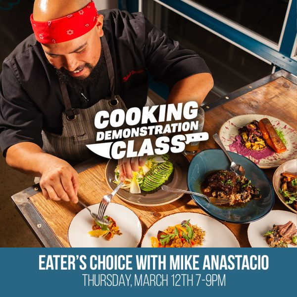 Easter's Choice with Mike Anastacio on March 12th. Buy Tickets Now!